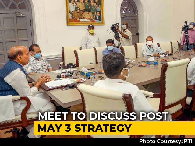 Video : GoM Headed By Rajnath Singh To Meet On Saturday, Discuss Lockdown Exit