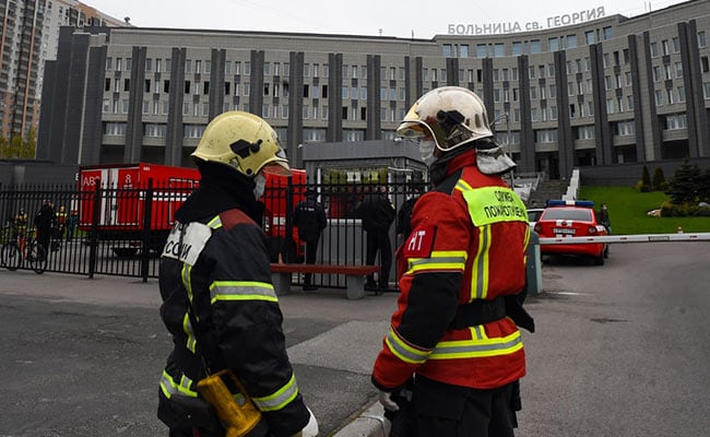 "Five Killed In ""Nightmare"" Fire At Russia's COVID-19 Hospital"