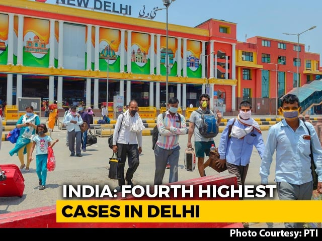Video : Delhi Coronavirus Cases Cross 10,000-Mark, 160 Deaths