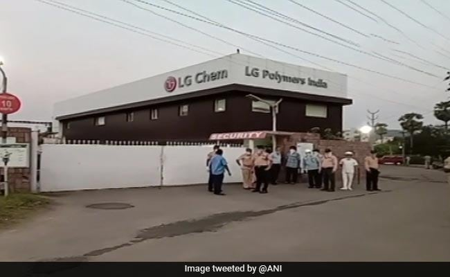 Visakhapatnam Gas Leak Took Place As Plastic Factory Was Being Restarted: Disaster Response Force