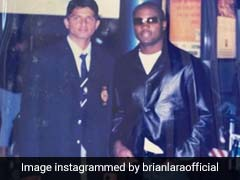 """Oversize Clothing Is Now A Thing Of Past"": Brian Lara Trolls Suresh Raina In Throwback Pic"