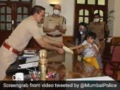 3-Year-Old Bakes Cupcakes To Raise Rs 50,000, Donates It To Mumbai Police