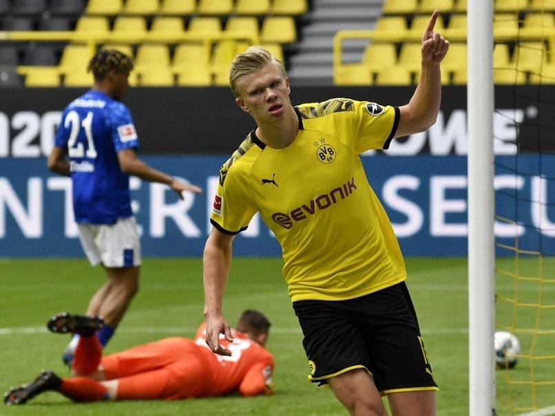 Bundesliga: Erling Haaland Shines In Borussia Dortmunds 4-0 Win Over Schalke