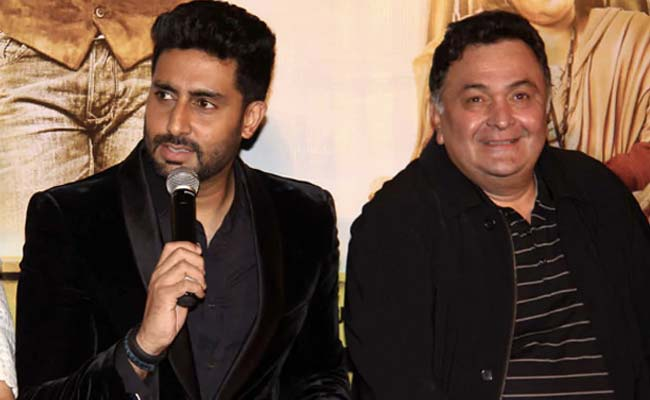 "What Rishi Kapoor Was To Abhishek Bachchan In A Few Words. Because ""Some  Losses Are Too Personal"""