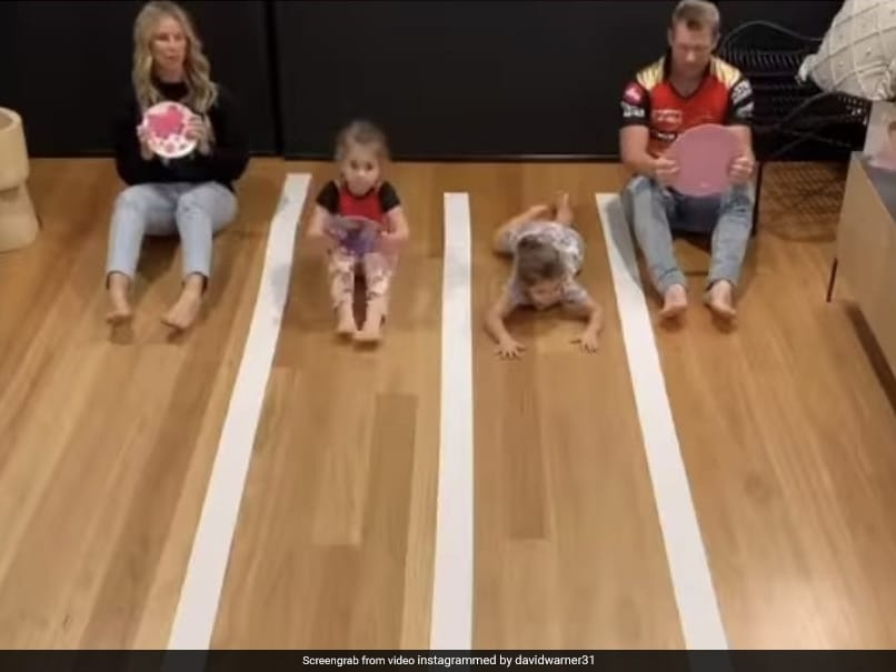 """Watch: David Warner Participates In Unique """"Car Race"""" With Family In Latest TikTok Video"""