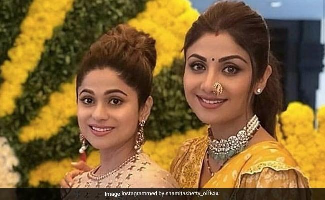 Shamita Shetty's Pic With Shilpa Is Setting 'Sister Squad' Goals