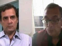 """India Needs Bigger Stimulus Package"": Abhijit Banerjee To Rahul Gandhi"