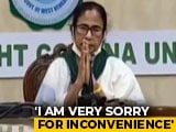 "Video : ""Cut Off My Head,"" Says Mamata Banerjee On Protests After Cyclone Amphan"