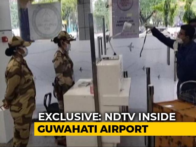 Video : New Rules For Air Travel: NDTV's Ground Report From Guwahati Airport