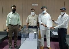 महिंद्रा ने तेलंगाना सरकार को एयरोसोल बॉक्स, फेस शील्ड दान किए