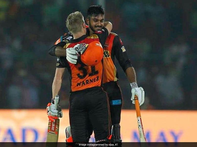 "Watch: David Warner, Vijay Shankar Name Teammates Who Are ""Always Late"""