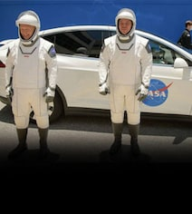 SpaceX Astronauts Were Transported To Space Shuttle In A Tesla