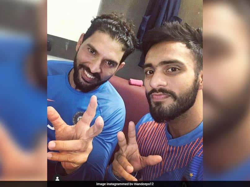 """Tanga Stiff"": Kings XI Punjab Batsman Trolls Yuvraj Singh For Yoga Day Post"