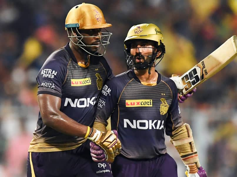 """""""Your Barber Dead?"""": Andre Russell Roasts Dinesh Karthik Over New Look. Watch"""