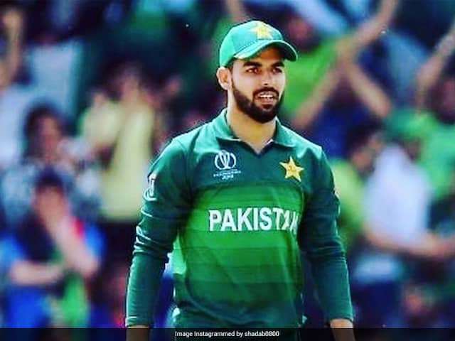 Shadab Khan, Haider Ali And Haris Rauf Test Positive For Coronavirus, Confirms Pakistan Cricket Board