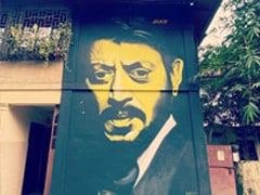"Neha Dhupia Shares ""Art In Our Bylanes"" Album. In It, Sridevi And Irrfan Khan Murals"