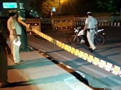 दिल्ली के सीमापुरी इलाके में पुलिस ने एनकाउंटर के बाद बाइक सवार लुटेरे को किया गिरफ्तार