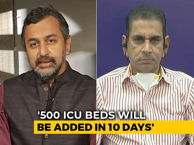 Video : Exclusive: Mumbai Civic Body Chief On ICU Beds In The City