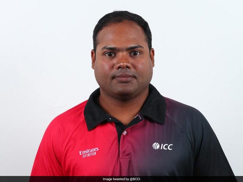 Nitin Menon becomes the youngest umpire to join ICC Elite Panel
