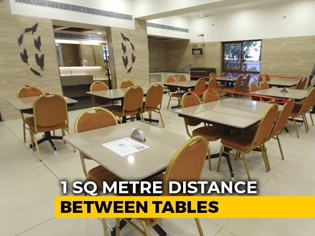 Video : Tamil Nadu Restaurants Reopen For Dining After 2 Months
