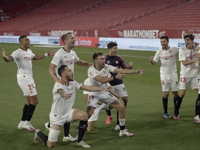 La Liga Resumes After Three Months Away As Sevilla Defeat Real Betis