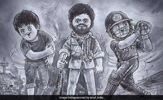 Amul's Moving Tribute To Actor Sushant Singh Rajput