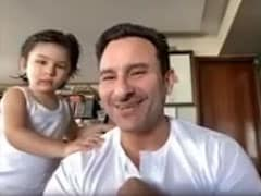 Trending: Taimur Adorably Crashes Dad Saif Ali Khan's Interview (Again)