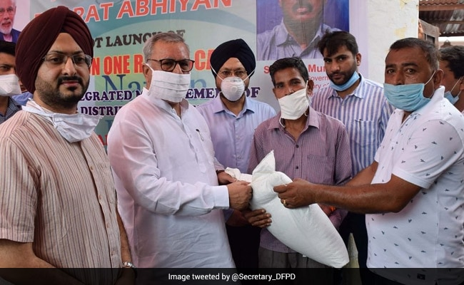 'One Nation One Ration Card' Scheme Launched On Pilot Basis In Jammu