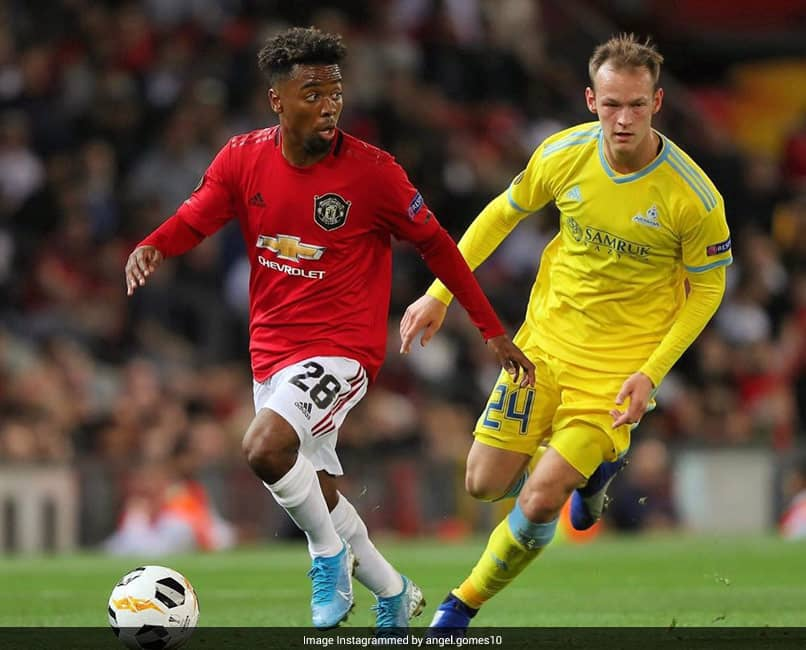 Manchester United Set To Part Ways With Angel Gomes As Contract Expires On Tuesday