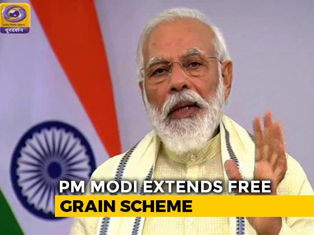 "Video : In PM's ""Free Ration"" Move, Reference To <i>Chhath Puja</i> Of Bihar"