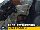 Video : SpiceJet Pilot Robbed At Gunpoint, Left Bleeding Near IIT-Delhi