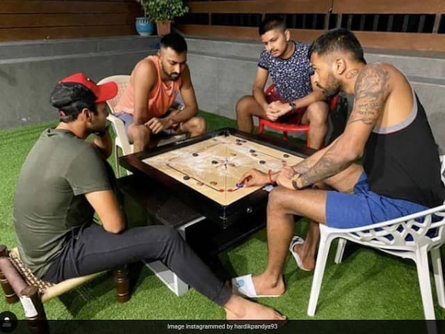 "Hardik Pandya Shares ""Carrom With My Brothers"" Moment On Instagram"