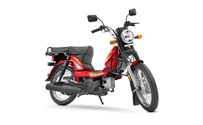 The TVS XL100 is priced from Rs. 44,294, going up to Rs. 46,114 (all prices, ex-showroom Delhi)