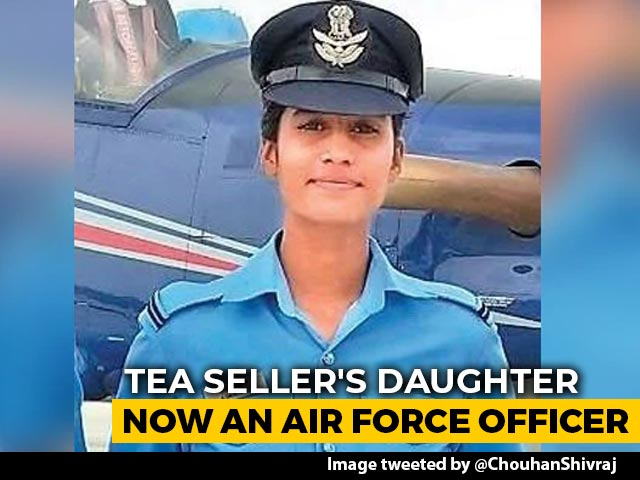 Video : Anchal Gangwal, Tea Seller's Daughter, Becomes Indian Air Force Pilot
