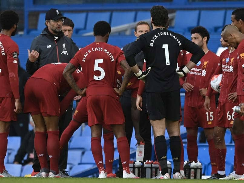 Liverpool Return To Anfield As Manchester City Aim To Prolong Title Wait