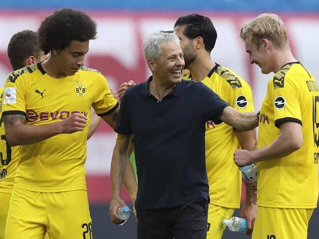 Borussia Dortmund Confirm Lucien Favre Will Remain Head Coach Next Season