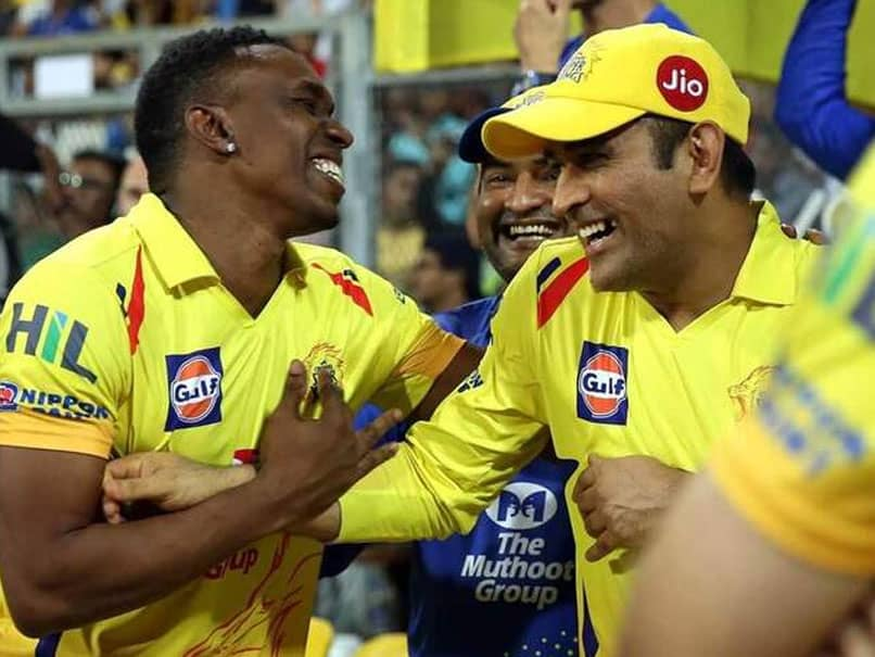 """Dwayne Bravo Dedicates """"Helicopter Song"""" To MS Dhoni Ahead Of His Birthday. Watch Video"""