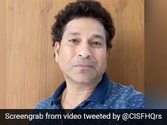 Watch: Sachin Tendulkar, Suresh Raina And Shikhar Dhawan Thank CISF For Their Service