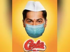 Varun Dhawan's <I>Coolie No 1</I> Poster, Complete With Mask