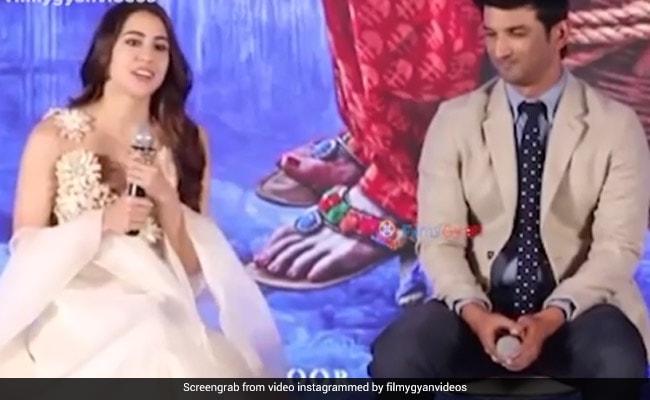 सुशांत सिंह राजपूत को सारा अली खान ने किया धन्यवाद, बोलीं- मुझे नहीं लगता कि इनके बिना कुछ कर पाती मैं...देखें Video