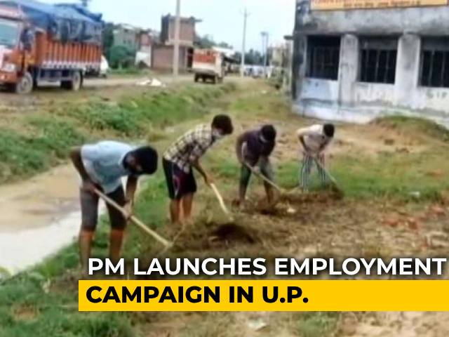 Video : PM Modi Launches Jobs Campaign For Uttar Pradesh