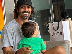 How Cute Is Arjun Rampal's Pic With Little Son Arik? Very