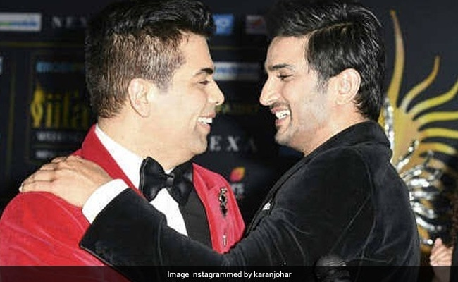 Sushant Singh Rajput's Drive Producer Karan Johar Writes, 'I Blame Myself For Not Having Been In Touch'