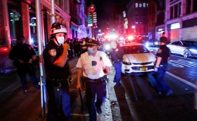 5 Cops Shot During US Protests Hours After Trump Vows To Use Military To Halt Unrest