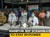 Video : BJP Flies 4 Manipur MLAs To Delhi To Contain Crisis In State