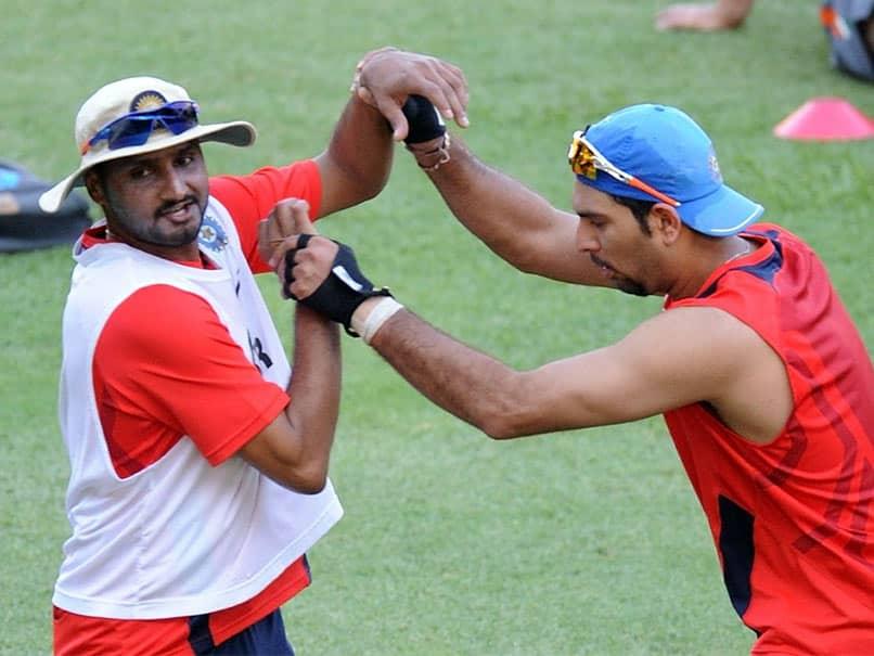 """Same Phone We Fought For"": Yuvraj Singh, Harbhajan Singh Take A Trip Down Memory Lane"