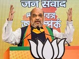 "Video : ""Bengal Will Make You Political Refugee"": Amit Shah To Mamata Banerjee"