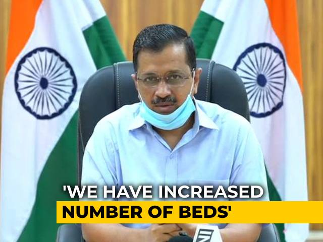 Video : 20,000 COVID Tests Daily In Delhi, 13,500 Beds: Arvind Kejriwal