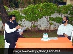 Devendra Fadnavis, Uddhav Thackeray Discuss Cyclone Nisarga Relief Work In Maharashtra
