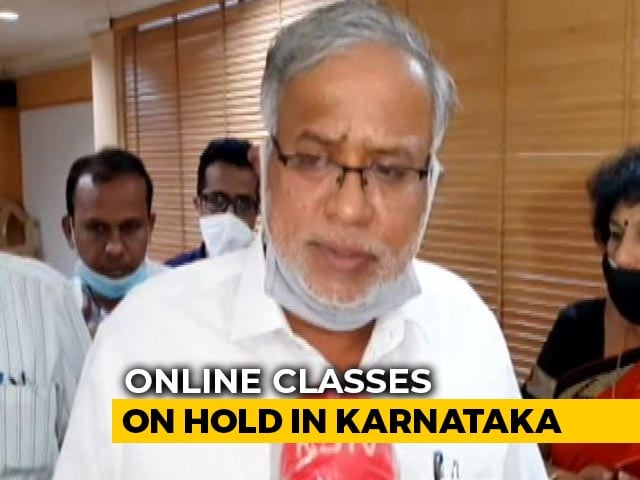 Video : No Online Classes For Children Till Class 5, Says Karnataka Government
